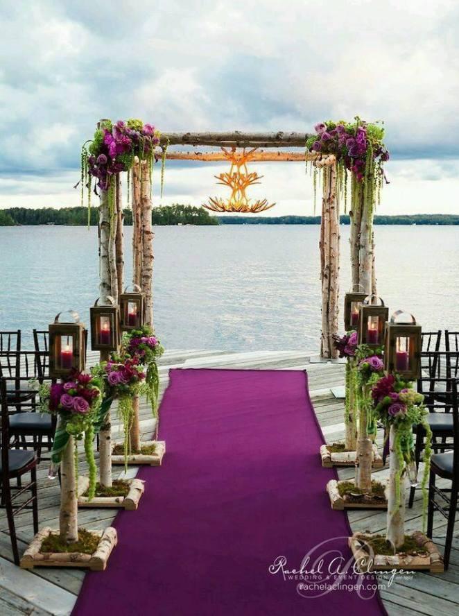 düğün alanı süsleme