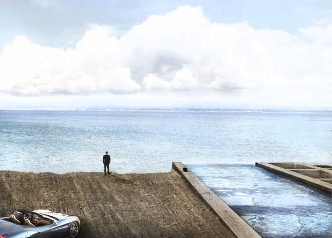 deniz kıyısında ev
