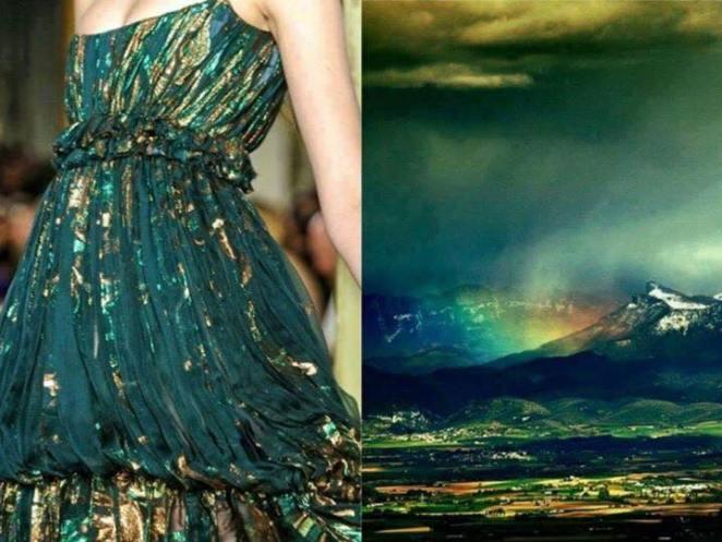elbise ve doğa