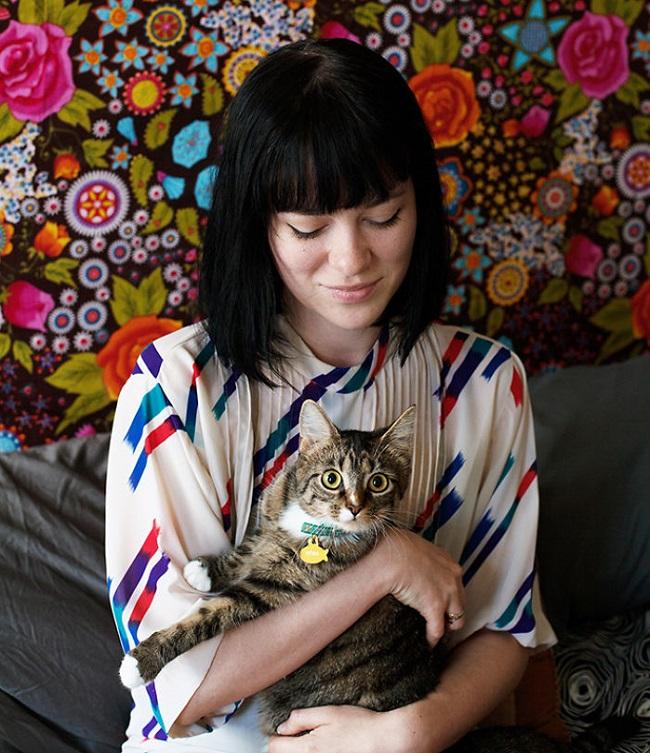 kızlar ve kedileri instagram 7