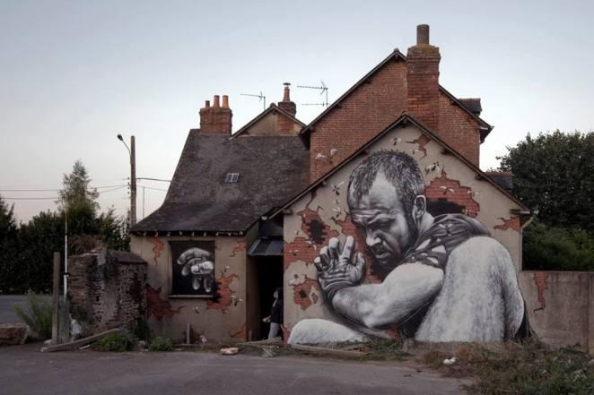 sokak sanatı yapmak