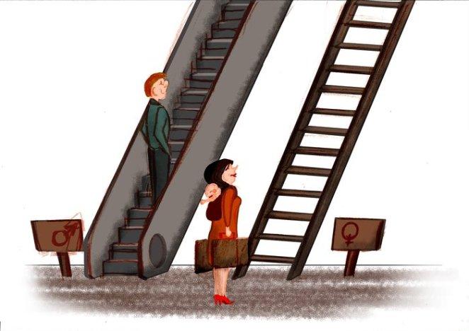 Cinsiyet Eşitsizliğini Gösteren Karikatürler 4
