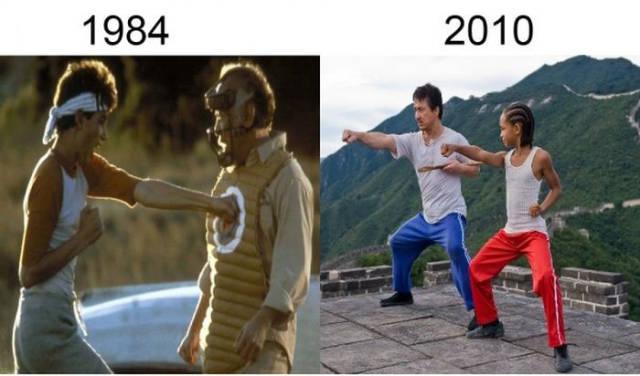 Filmlerin önceleri sonraları karete kid