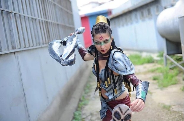 Headhunter Nidalee - Luthiela Cosplay
