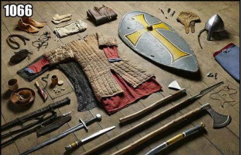 SAVAŞ SİLAHLARI 1066