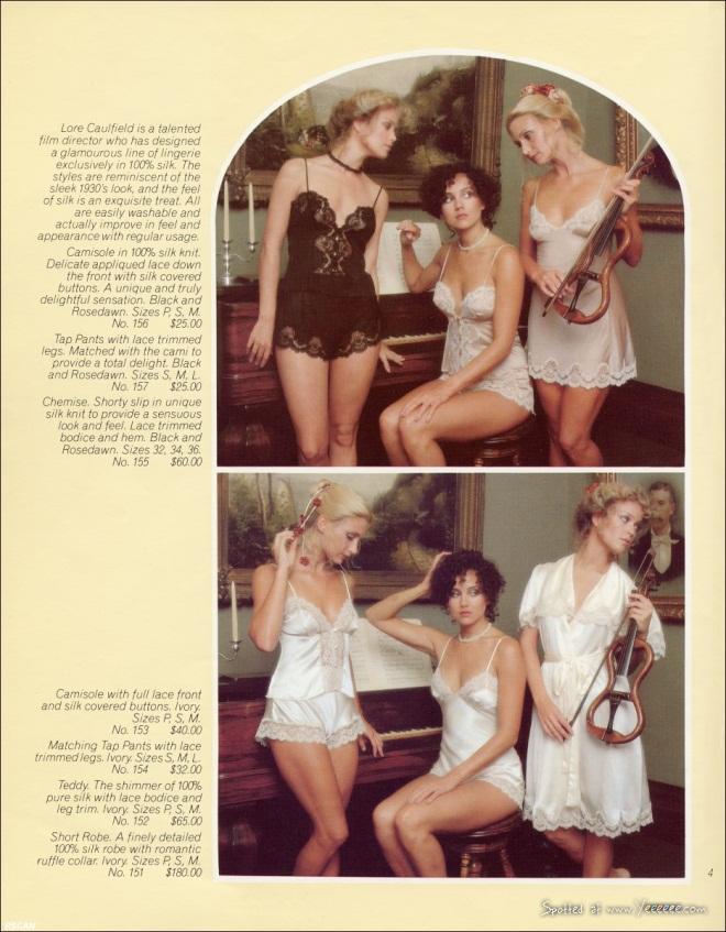 Victoria's Secret 1979 ve 1982 fotoğrafları 5