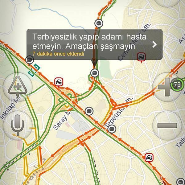 Yandex haritalara eklenmiş komik notlar 10