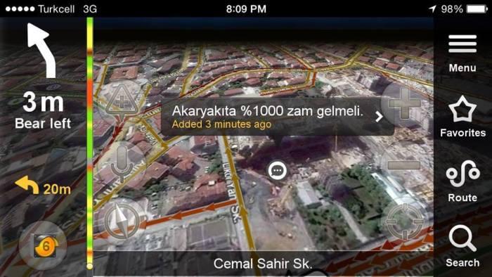 Yandex haritalara eklenmiş komik notlar 11