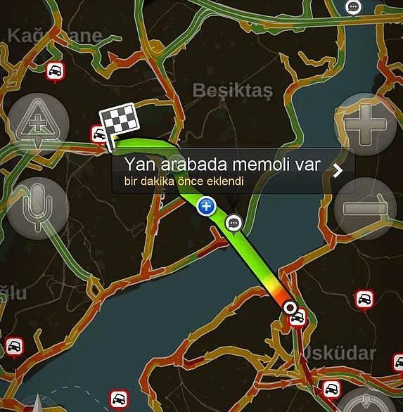 Yandex haritalara eklenmiş komik notlar 5