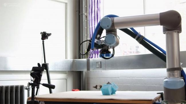 kendi robot üreten robot