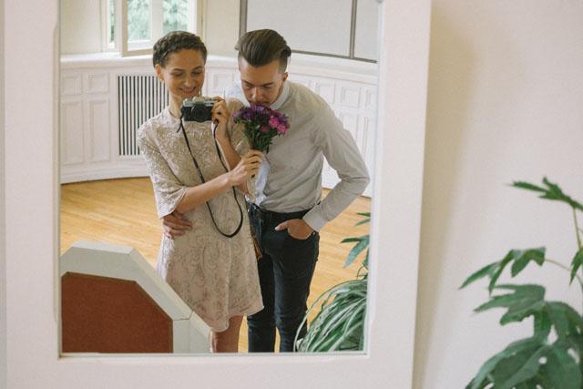 Kendi düğününü fotoğraflayan gelin Liisa 8