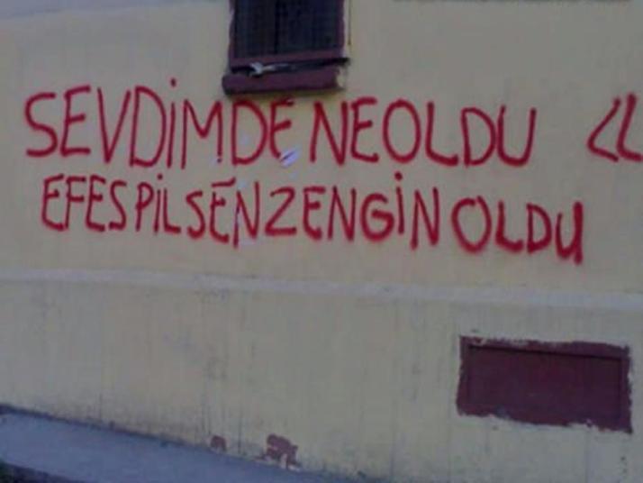aşk duvar yazıları