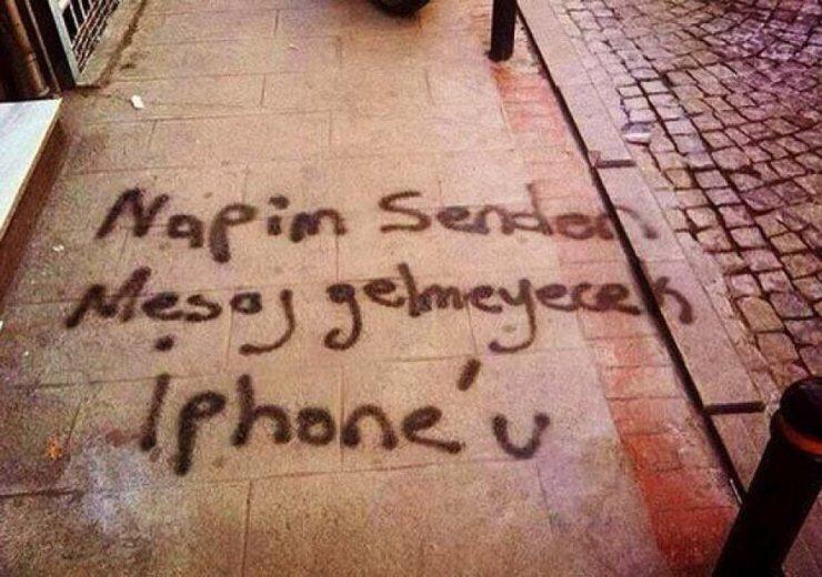 iphone-duvar-yazısı