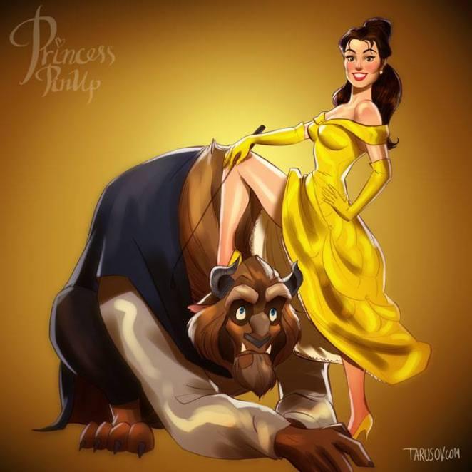 princess pin up