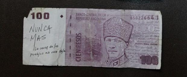 Atatürk Peso Arjantin