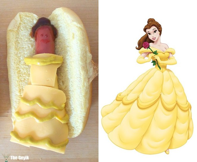 disney-princes'lerini hot dog yapmak 3