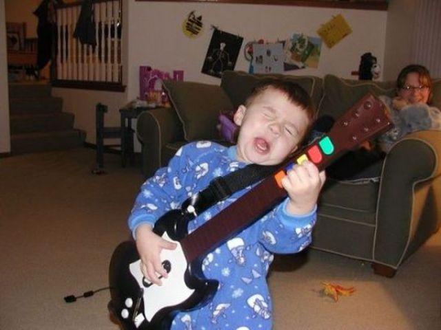 gitar çocuk