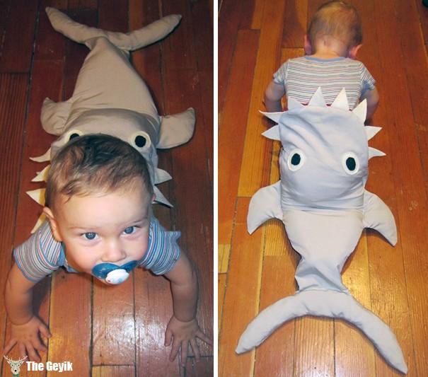 köpek balığı kostüm