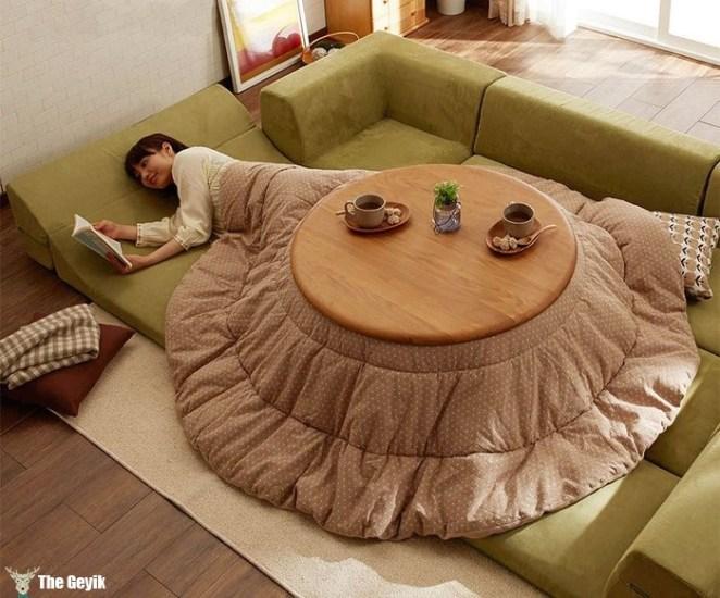 yataktan çıkmak istemeyenler için muhteşem icat
