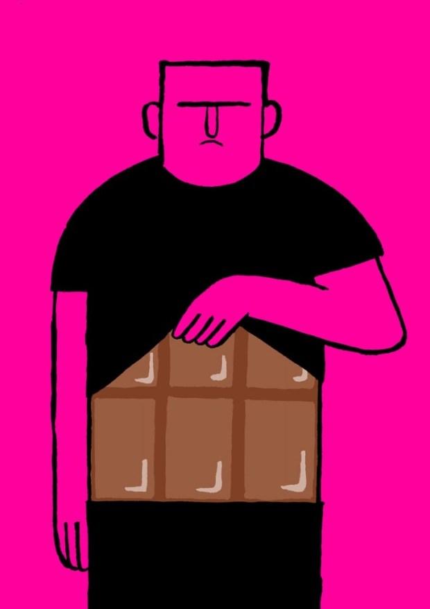 çikolata adam