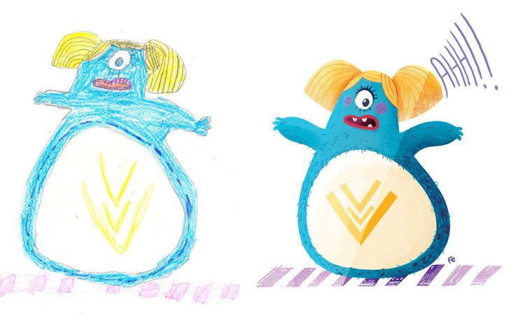 çocuk çizimleri canavarlar 1