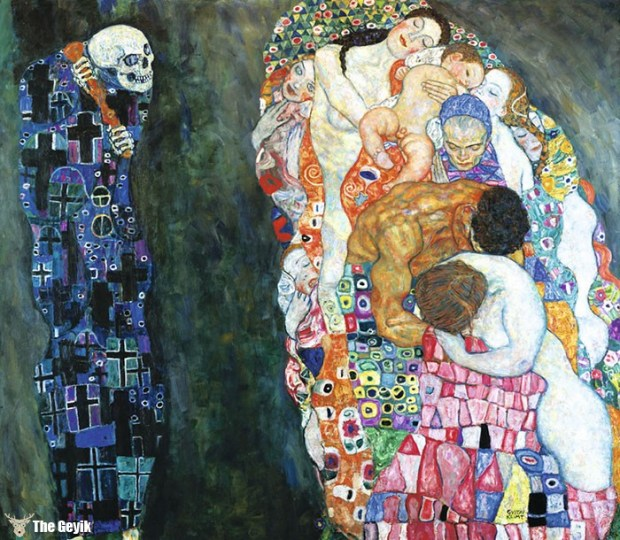 Gustav Klimt'in Erotik Eserleri Canlandı 9