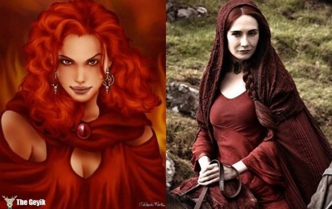 Melisandre (aka The Red Woman)
