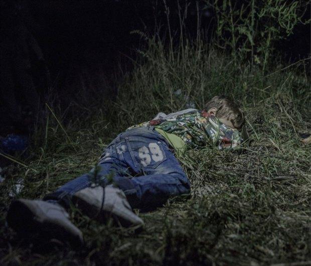 Suriyeli göçmen çocukların yattığı yerler magnus wennman 3