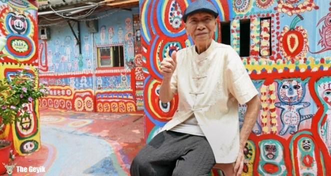 Taichung-Tayvan- Huang Yung-fu-gokkusagı-rainbow