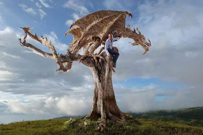 ağaç heykelleri