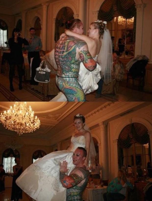 düğünden komik fotolar