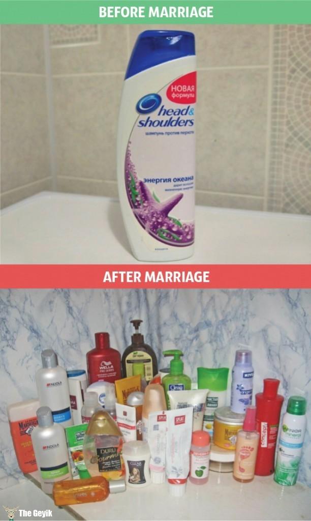 evlilik öncesi sonrası