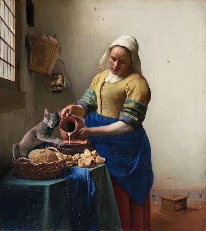 kedi-tablolarda