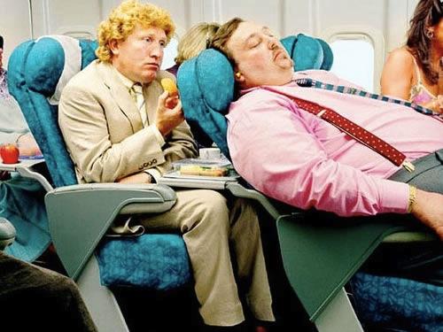 uçaktaki rahatsız edici tipler 14