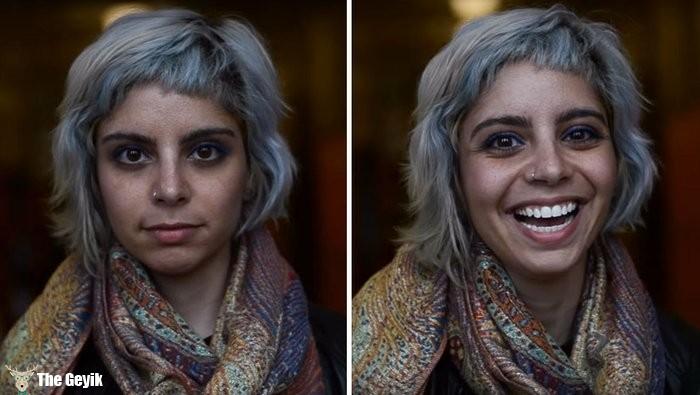 Bir insana güzelsin deyip fotoğraflamak 3