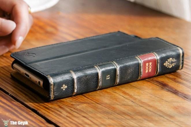 kitap şeklinde telefon kabı