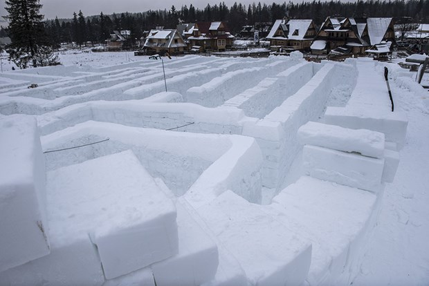 buz labirent