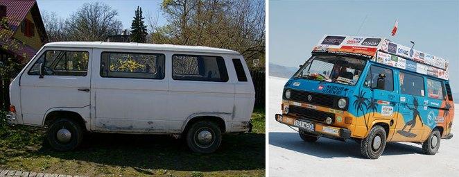 gezgin karavan