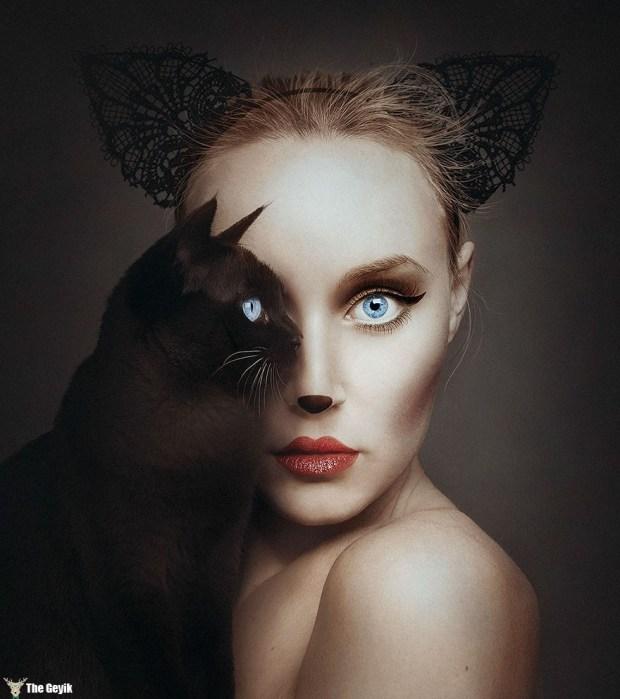 hayvan gözü sanatçı