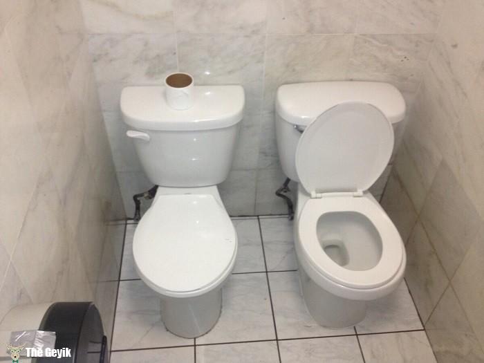 İlginç komik banyo ve tuvaletler 8