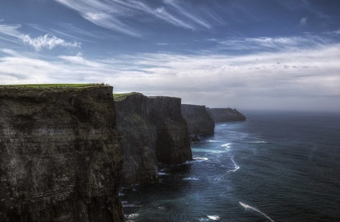The Cliffs of Moher.