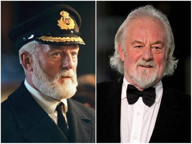 Bernard Hill — Captain Edward James Smith