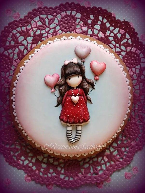 Dikiş Nakış gibi pasta yapan mezesmanna 9