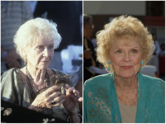 Gloria Stuart — yasli Rose