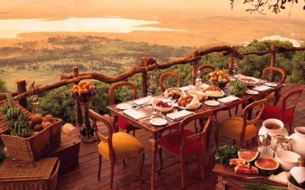 Ngorongoro Crater Lodge in Ngorongoro, Tanzania