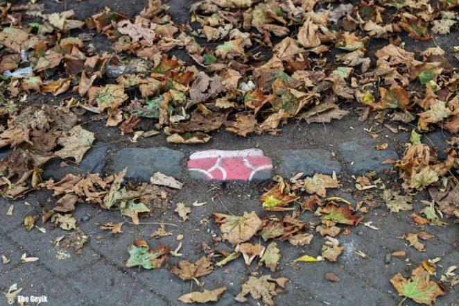 Andre Levy çıplaklık karşıtı taş boyama 4
