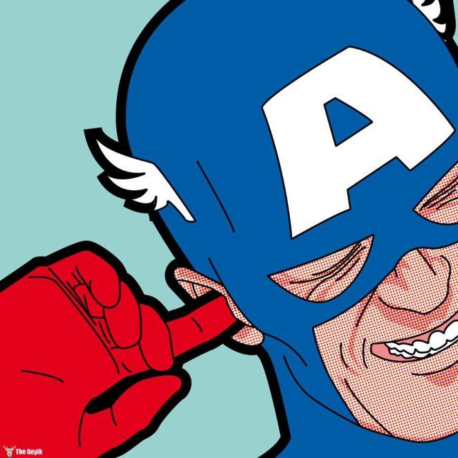Süper Kahramanların Bize Gösterilmeyen Gizli Hayatı Greg Guillemin 21