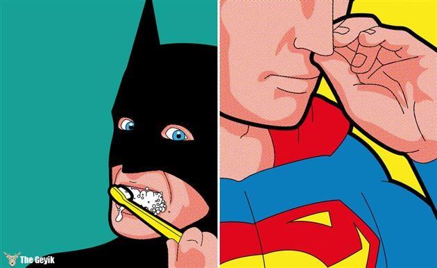 Süper Kahramanların Bize Gösterilmeyen Gizli Hayatı Greg Guillemin 29