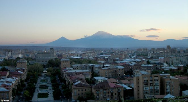 Erivan, Ermenistan'ın en büyük şehri ve 1918'den beri başkentidir. Erivan, Ermenistan'ın 12. başkentidir.