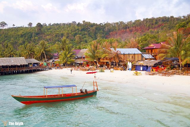 exotic koh rong island, cambodia